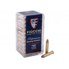 Fiocchi Shooting Dynamics .22 Winchester Magnum Rimfire (WMR) 40 Gr. Jacketed Soft Point- Box of 50