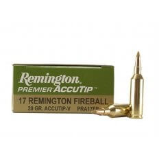 Remington Premier Varmint .17 Remington Fireball 20 Gr. AccuTip Boat Tail- Box of 20