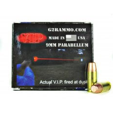 G2 Research V.I.P. 9mm Luger 95 Gr. Red Cold Tracer- Lead Free - G2RVIP9MM