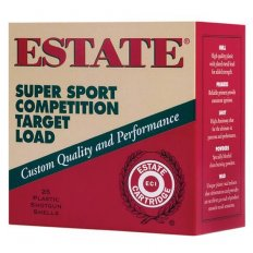 "Estate Super Sport Competition Target Load 12 Gauge 2-3/4"" 1 1/8 oz #8 Lead Shot"