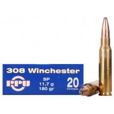 Prvi Partizan .308 Winchester 180 Gr. Soft Point- Box of 20