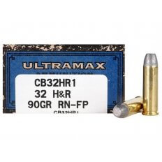 Ultramax Cowboy Action .32 H&R Magnum 90 Gr. Lead Flat Nose- Box of 50