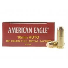 Federal American Eagle 10mm Auto 180 Gr. Full Metal Jacket- Box of 50