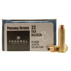 Federal Personal Defense .32 H&R Magnum 85 Gr. Jacketed Hollow Point- Box of 20