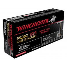 Winchester PDX1 Defender Self Defense .223 Remington 60 Gr. Bonded Jacketed Hollow Point S223RPDB