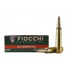 Fiocchi Shooting Dynamics .223 Remington 55 Gr. Pointed Soft Point- Box of 20