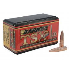 Barnes Bullets 7mm (.284 Diameter) 140 Gr. Triple-Shock X Hollow Point Boat Tail- Lead-Free 30289