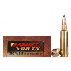 Barnes VOR-TX .300 WSM 165 Gr. Tipped TSX Bullet Boat Tail- Lead-Free- Box of 20