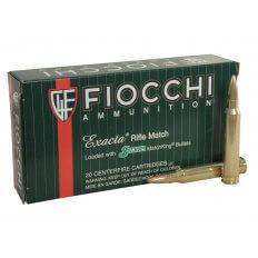 Fiocchi Exacta .300 Winchester Magnum 190 Gr. Sierra MatchKing Hollow Point Boat Tail- Box of 20