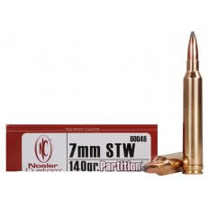 Nosler Trophy Grade 7mm STW 140 Gr. Partition 60046