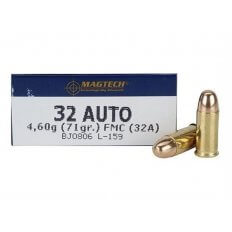 Magtech .32 ACP 71 Gr. Full Metal Jacket- Box of 50
