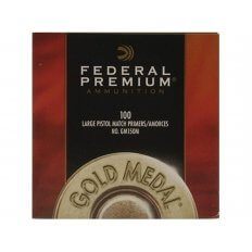 Federal Premium Gold Medal Large Pistol Match Primers #150M- Box of 1000 (HAZMAT Fee Required)
