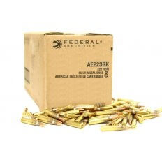 Federal American Eagle .223 Remington 55 Gr. Full Metal Jacket Boat Tail- Bulk Pack of 1000