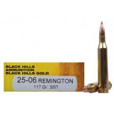Black Hills Gold .25-06 Remington 117 Gr. Hornady SST- Box of 20