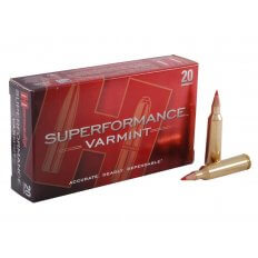 Hornady SUPERFORMANCE Varmint .22-250 Remington 50 Gr. V-Max- Box of 20