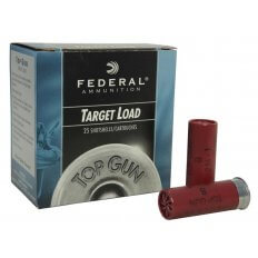 "Federal Top Gun 12 Gauge 2-3/4"" 1oz #8 Shot- Box of 25"