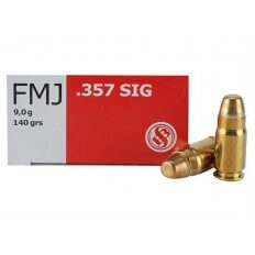 Sellier & Bellot .357 Sig 140 Gr. Full Metal Jacket- Box of 50