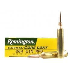Remington Express .264 Winchester Magnum 140 Gr. Pointed Soft Point Core-Lokt- Box of 20
