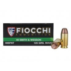 Fiocchi Frangible .40 S&W 125 Gr. Sinterfire Flat Point Lead-Free 40SFNT
