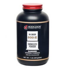Hodgdon Hi-Skor 800-X Smokeless Powder- 1 Lb. (HAZMAT Fee Required)