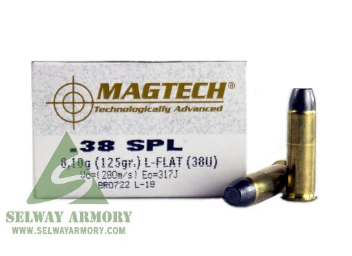 Magtech Cowboy Action  38 Special 125 Gr  Lead Flat Nose