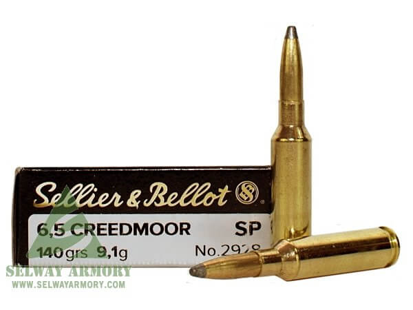 Sellier & Bellot 6.5 Creedmoor 140 Gr. Soft Point- Box of 20 SB65C
