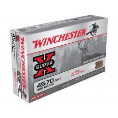 Winchester Super-X .45-70 Government 300 Gr. Jacketed Hollow Point- Box of 20
