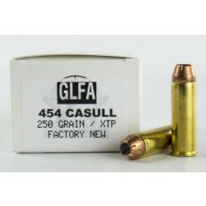 GLFA .454 Casull 250 Gr. Hornady XTP Hollow Point- Box of 20