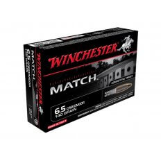 Winchester Match 6.5 Creedmoor 140 Gr. Sierra MatchKing Hollow Point Boat Tail- Box of 20