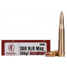 Nosler Trophy Grade .300 H&H Magnum 180 Gr. AccuBond- Box of 20