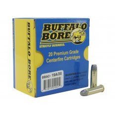 Buffalo Bore .357 Magnum 180 Gr. Lead Flat Nose Gas Check- Box of 20