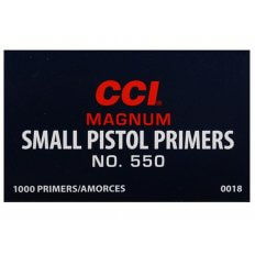 CCI Small Pistol Magnum Primers #550- Box of 1000 (HAZMAT Fee Required)