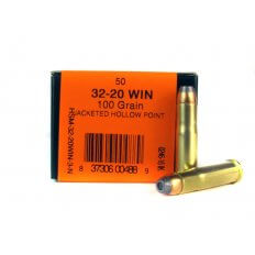 HSM .32-20 Winchester 100 Gr. Jacketed Hollow Point- HSM-32-20WIN-3-N