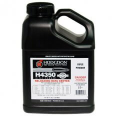 Hodgdon H4350 Smokeless Powder- 8 Lbs. (HAZMAT Fee Required)