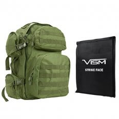 VISM Tactical Backpack with Ballistic Soft Panel BSCBG2911-A