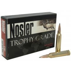 Nosler Trophy Grade 7mm Remington Magnum 168 Gr. AccuBond Long Range- Box of 20