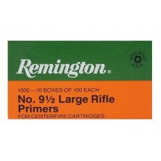 Remington Large Rifle Primers #9-1/2- Box of 1000 (HAZMAT Fee Required)