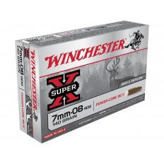 Winchester Super-X Power-Core 95/5 7mm-08 Remington 140 Gr. Hollow Point Boat Tail- Lead-Free- Box of 20