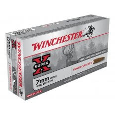 Winchester Super-X  7mm Winchester Short Magnum (WSM) 140 Gr. Power-Core 95/5 Hollow Point Boat Tail Lead-Free- Box of 20