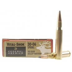 Federal Premium Vital-Shok .30-06 Springfield 180 Gr. Nosler Partition- Box of 20