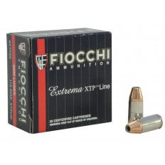 Fiocchi Extrema 9mm Luger 115 Gr. Hornady XTP JHP- Box of 25