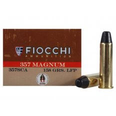 Fiocchi Cowboy Action .357 Magnum 158 Gr. Lead Round Nose Flat Point- Box of 50