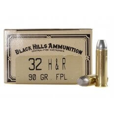 Black Hills Cowboy Action .32 H&R Magnum 90 Gr. Lead Flat Point- Box of 50