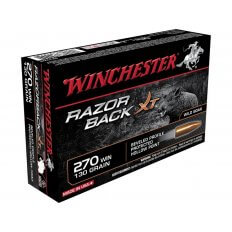 Winchester Razorback XT .270 Winchester 130 Gr. Hollow Point- Lead-Free- Box of 20