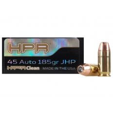 HPR HyperClean .45 ACP 185 Gr. Hornady XTP Jacketed Hollow Point- Box of 50