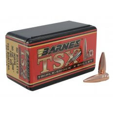 Barnes Bullets .30 Caliber (.308 Diameter) 130 Gr. TSX Hollow Point Boat Tail- Lead-Free- Box of 50