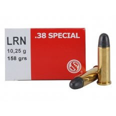 Sellier & Bellot .38 Special 158 Gr. Lead Round Nose SB38A