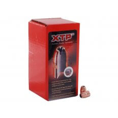 Hornady Bullets .38 Caliber (.357 Diameter) 125 Gr. XTP Jacketed Hollow Point- Box of 100