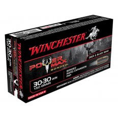 Winchester Power Max Bonded .30-30 Winchester 150 Gr. Protected Hollow Point- Box of 20