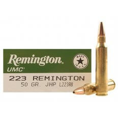 Remington UMC .223 Remington 50 Gr. Jacketed Hollow Point- Box of 20